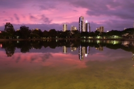 Sunrise colours