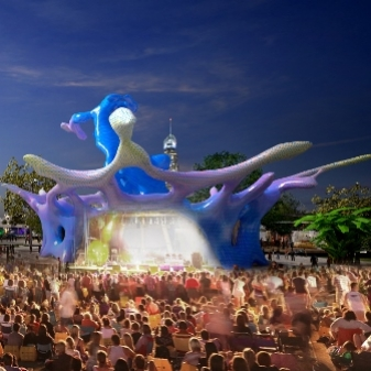 Draft Splash concept for Gold Coast Cultural Precinct