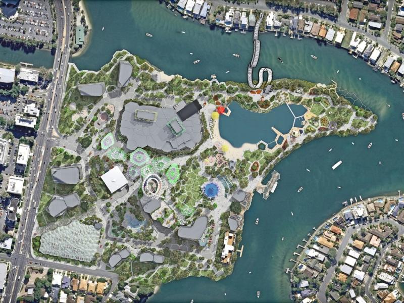 Urban plan Gold Coast